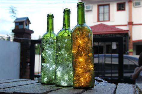 how to make wine bottle accent lights 15 steps with