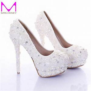 popular pearl colored shoes buy cheap pearl colored shoes With what color shoes to wear with ivory wedding dress