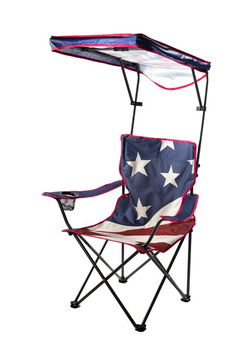 kmart chairs with canopy quik shade canopy c chair american flag pattern