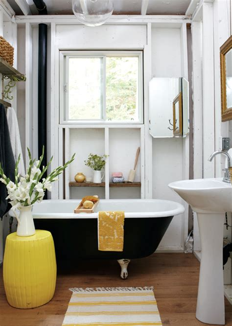black and yellow bathroom black and yellow bathroom cottage bathroom style at home