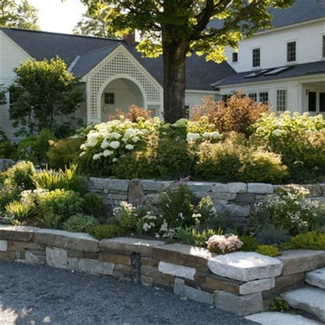 tiered front yard landscaping tiered landscaping outdoors pinterest