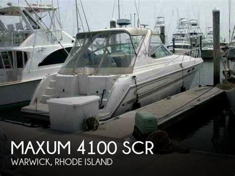 Outboard Motors For Sale Rhode Island by For Sale Used 1999 Maxum 4100 Scr In Warwick Rhode Island