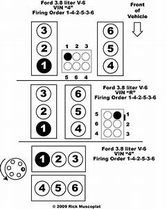 3 8 V6 Ford Firing Order Ricks Free Auto Repair Advice