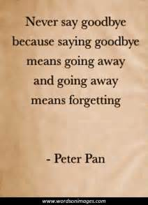 Famous Quotes About Saying Goodbye