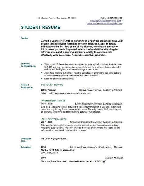 25 best ideas about high school resume template on