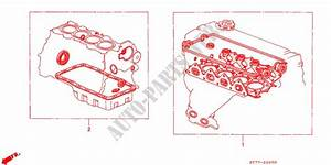 Gasket Kit For Honda Cars Integra Type R 3 Doors 5 Speed Manual 1999   Honda Cars