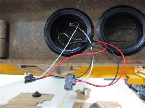 Trailer Light Connection Diagram by Right Angle 3 Wire Pigtail For Sealed Trailer Stop Turn