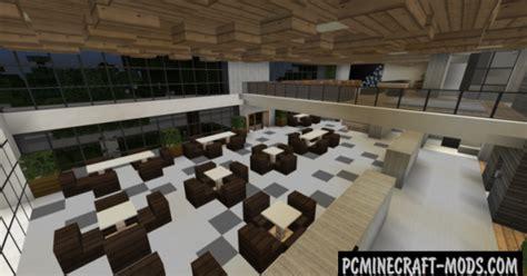 modern hotel map  minecraft   pc java mods