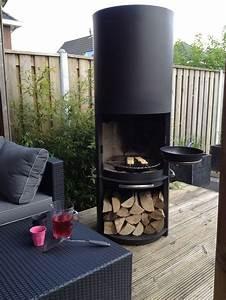 barbecue elegant foyer exterieur cette cheminee vous With foyer pour barbecue exterieur