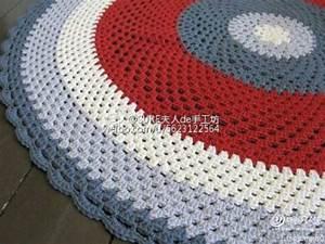 Round Rug Crochet Pattern  U22c6 Crochet Kingdom