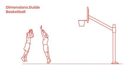 basketball dimensions drawings dimensionsguide