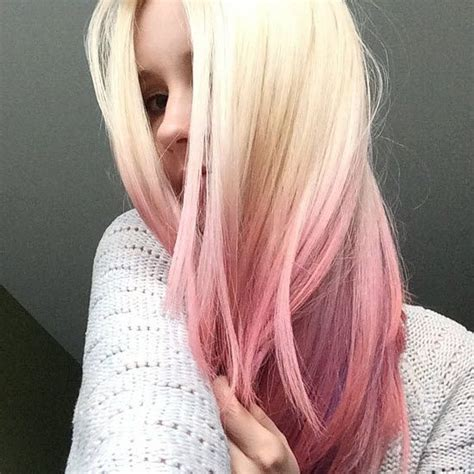 Colour Change From Brunette Beauty To Pastel Pink