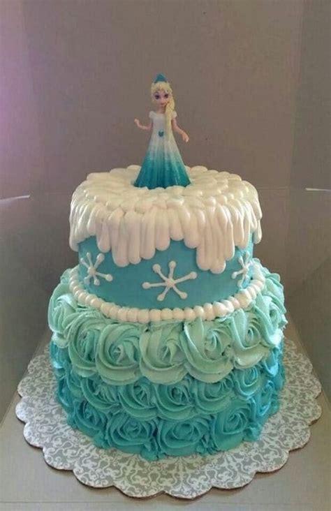 disney frozen birthday cake ideas  images  happy