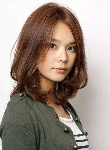 collection  medium length asian hairstyles