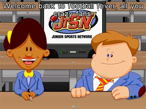 Backyard Football Characters - scummvm screenshots