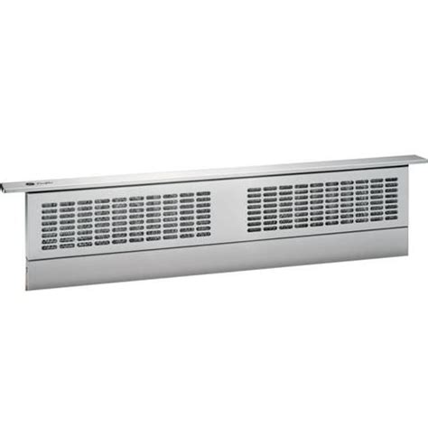 ge profile series  telescopic downdraft systempvbstss range hood stainless range