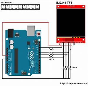 Interfacing Arduino With Ili9341 Color Tft Display