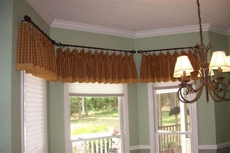 curtain rod for bay window bay window curtain ideas pictures a creative