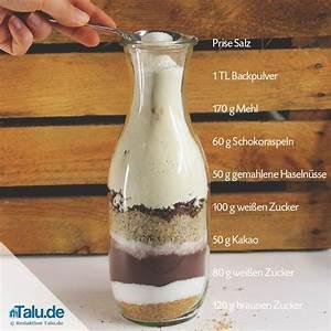 Kuchen zutaten im glas brownies Beliebte Rezepte von
