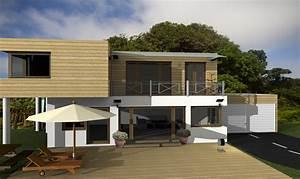 Modernes Gartenhaus Flachdach : modernes holzhaus flachdach ~ Sanjose-hotels-ca.com Haus und Dekorationen