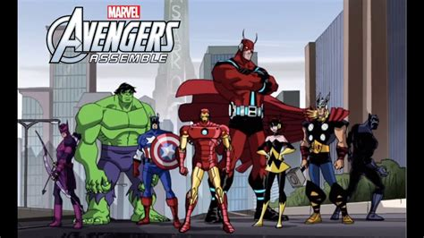 Avengers Assemble Animated Trailer