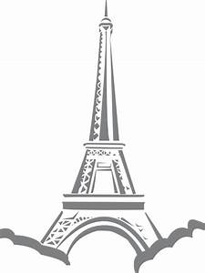Eiffel Stencil Clip Art at Clker.com - vector clip art ...