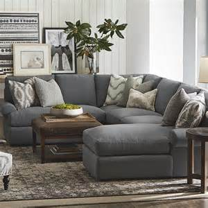Sectionals With Cuddler Chaise by Sutton U Shape Sectional Sofa Living Room Bassett