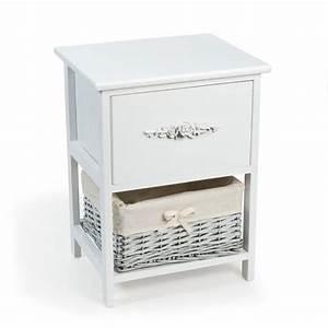 Chevet Maison Du Monde : table de chevet blanche maison du monde design en image ~ Teatrodelosmanantiales.com Idées de Décoration