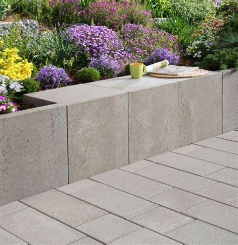 u steine garten mauer u steine in grau kellerausbau garten l stein und garten beton