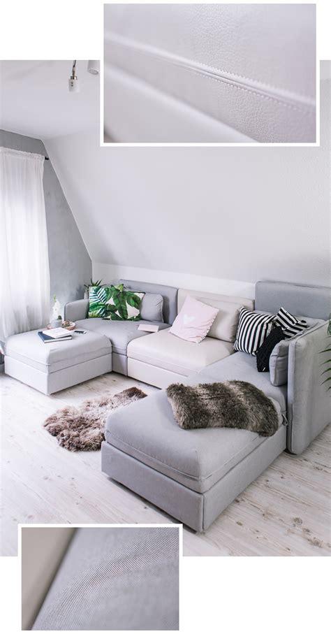 Teppich Vorm Sofa by Mein Neues Ikea Sofa Vallentuna Und Gewinnspiel Rosegold