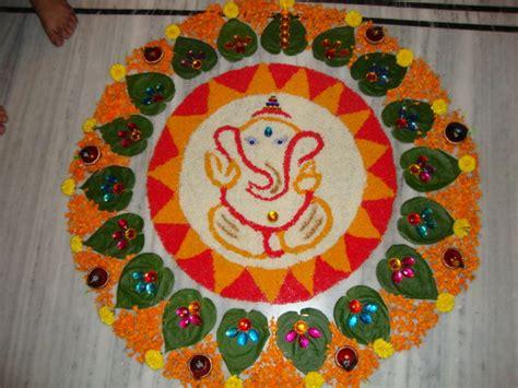ganesh rangoli designs coloring pages