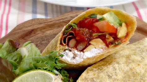 spicy bean wraps recipe mexican recipes  el paso