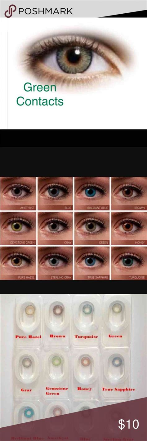 colored contact lenses without prescription 25 best ideas about prescription colored contacts on