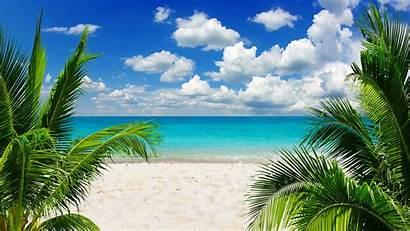 Tropical Nature Praia Mar Wallpapers Beaches Paradise