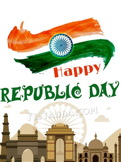 Happy Republic Day 2019 Greeting Cards For Whatsapp Status ...