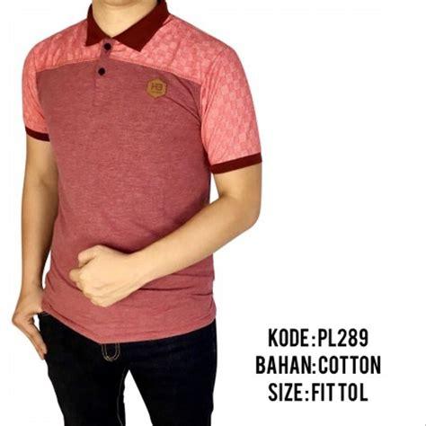 jual baju polo pria cowok laki laki kaos kerah motif distro premium 145 di lapak dtas store