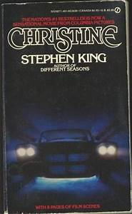 Too Much Horror Fiction: Christine by Stephen King (1983 ...