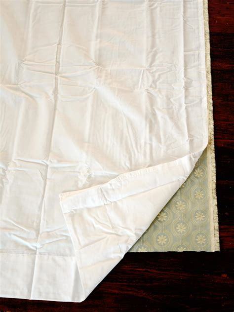 the drapery easy sew lined window treatments hgtv
