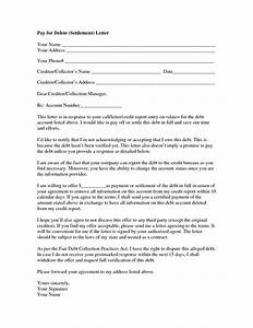 lovely pay for delete letter cover letter examples With full and final settlement offer letter template