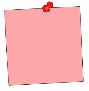 Pink Sticky Note Clip Art (51+)