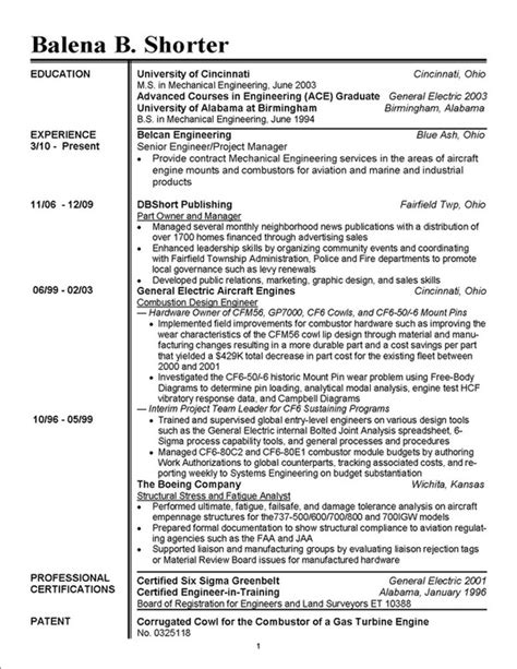 School Board Member Resume by Candidate S Bio Shorter For Schools