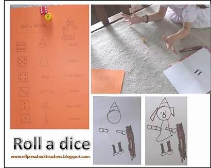 Dice Efl Esl Preschool Teachers Roll Recognition