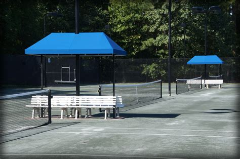 tennis bench shade covers tennis stand shade pavilions