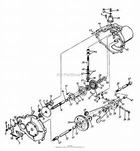 Mtd 13bx614g401  1998  Parts Diagram For Transmission Assembly