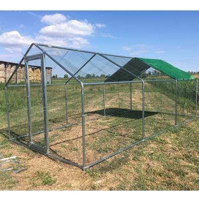 recinti per animali da cortile recinti per gatti in acciaio zincato con tetto parasole