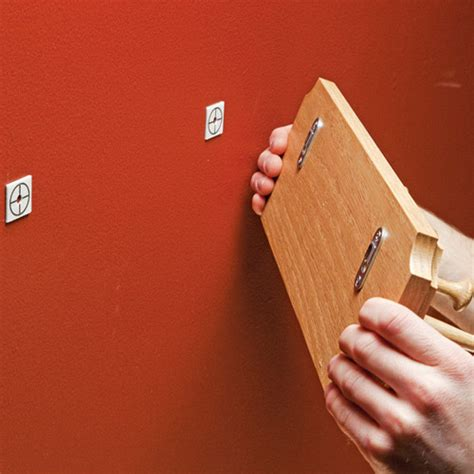 How To Hang A Shelf And Other Stuff With Dot Marks The Spot