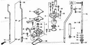 Honda Outboard Parts By Year 2005 Oem Parts Diagram For