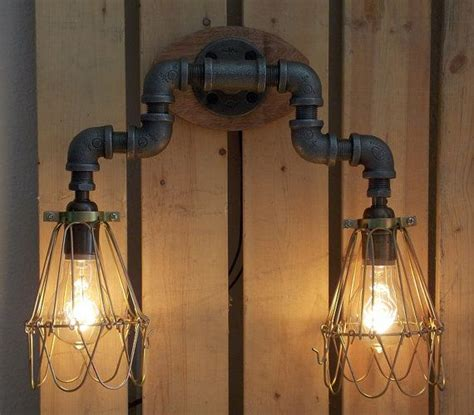 Industrial Vanity Light by Industrial Wall Vanity Light