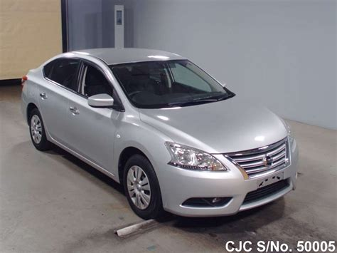 nissan bluebird 2013 nissan bluebird sylphy silver for sale stock no