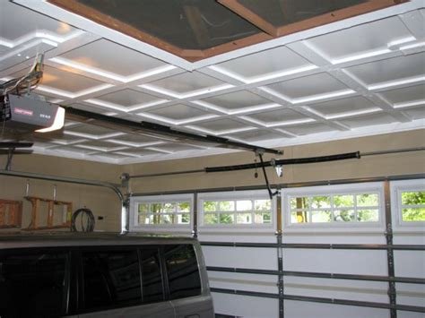 ceiling material for garage impressive garage ceilings 1 garage ceiling ideas
